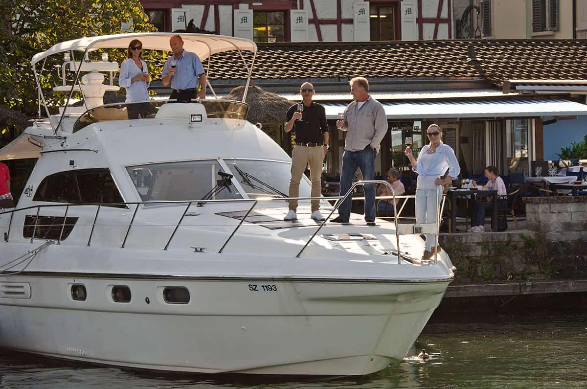 Partyyacht und Motoryacht Teamevent Zürich