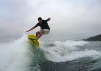 Wakesurfen